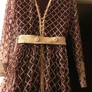 Beautiful Arabian dress.